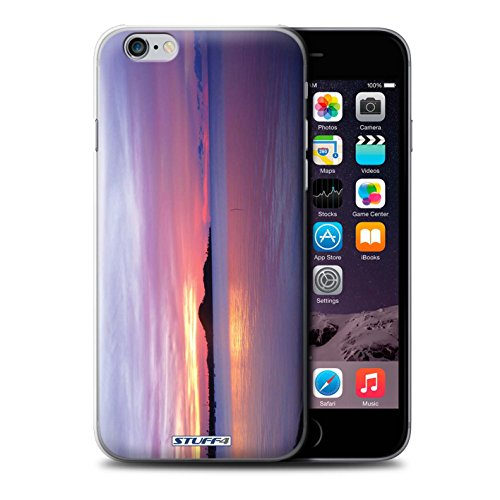 Stuff4 Hülle / Case für Apple iPhone 7 Plus / Blauer Himmel Muster / Sonnenuntergang Kollektion Blaues Meer