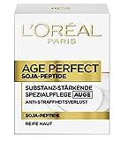 L'Oreal Paris Augencreme Age Perfect Feuchtigkeit Soja Substanz Augenpflege 15ml