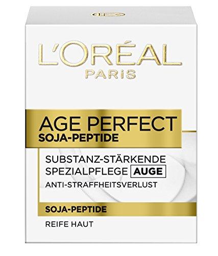 L\'Oreal Paris Augencreme Age Perfect Feuchtigkeit Soja Substanz Augenpflege 15ml