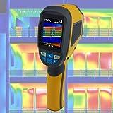 Wärmebildkamera Infrarotkamera LCD Farbdisplay Gebäude Sanierung Schimmel Taupunkt Pyrometer Energiepass