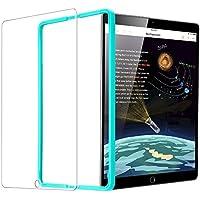 ESR Verre Trempé pour iPad 2018 / iPad 2017 / iPad Air 2 / iPad Air/iPad Pro 9.7 [Gabarit de Pose Inclu], Film Protection Ecran Ultra Résistant, Indice Dureté 9H