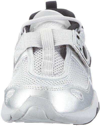 Glagla Classic, Baskets mode mixte adulte Argent/gris