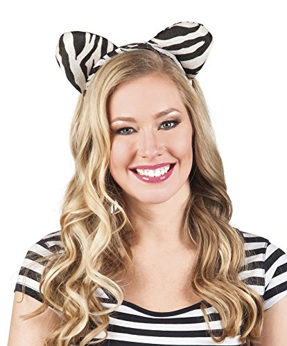 erdbeerclown- Tiger Zebra Leopard Haarreif Kostüm 3er Set, (Maus Kostüm Tutorial)