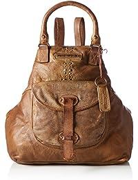 Taschendieb Td0063ol, Bolsos mochila Mujer, Grün (Olive), 9x36x41 cm (B x H T)