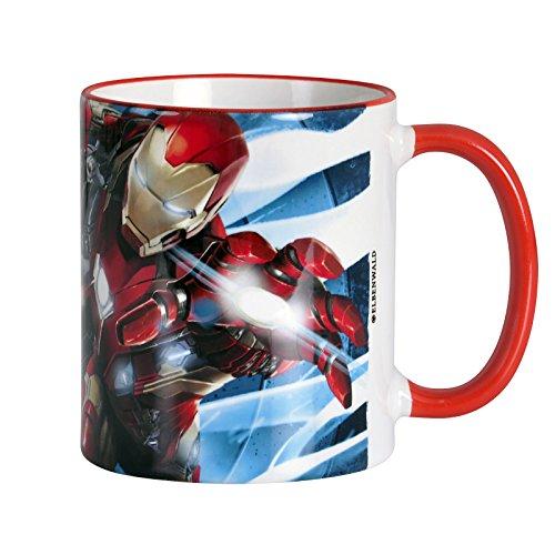 Man Warmachine von Elbenwald Keramik rot (Hawk-eye Avengers)