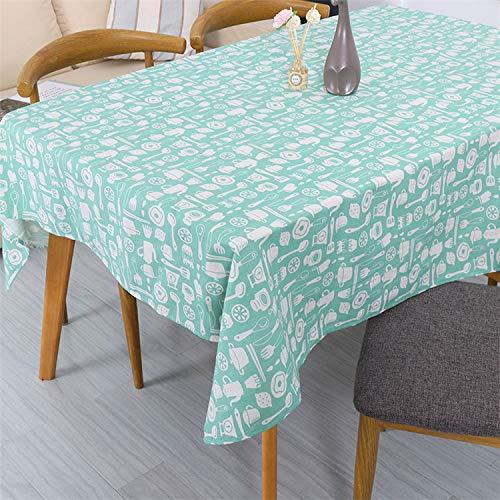 Creek Ywh Nordische einfache gelbe Tischdecke Schwarze und weiße Polka Dot kleine Kiefer Geschirr Baumwolle und Leinen rot Schlafsaal Tischdecke Couchtisch, Geschirr Tischdecke, 140 * 200