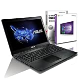 ASUS X5 (15,6 Zoll) Notebook (Intel Pentium N3540 Quad Core 4x2.58 GHz, 8GB RAM, 750GB S-ATA HDD, Intel HD Graphic, HDMI, Webcam, USB 3.0, WLAN, DVD-Brenner, Windows 10 Professional 64 Bit) [geprüfte erneut verpackte Originalware] #5337