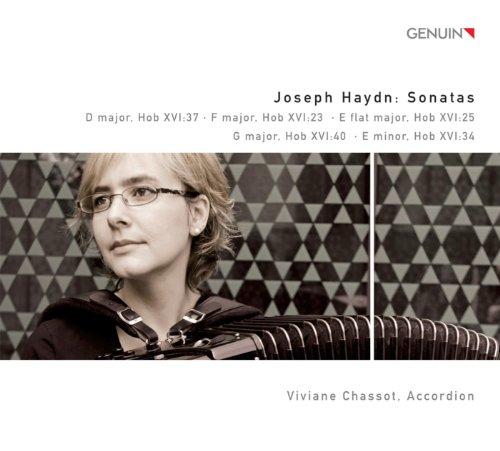 Haydn, F.J.: Keyboard Sonatas - Nos. 23, 38, 50, 53, 54 (Arr. for Accordion)