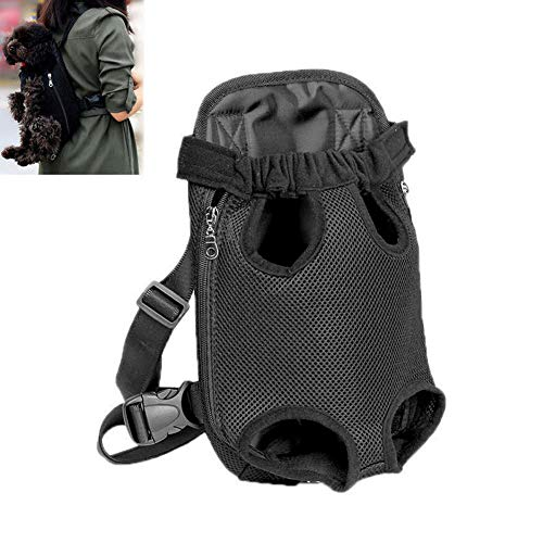 Ferrell 1Pc Pet Carrier Backpack Adjustable Cat Dog Front Legs Out Carrier Travel Bags -