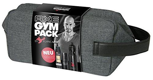 Axe Gympack Flying Uwe inklusive signierter Trinkflasche (1 x 200ml, 1 x 150ml) (Gym Pack)