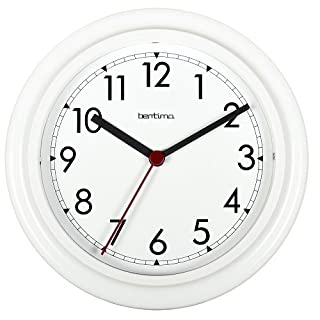 Bentima 21242 23 cm Stratford Wall Clock, White by Acctim
