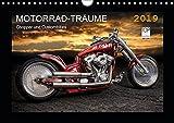 Motorrad-Träume - Chopper und Custombikes (Wandkalender 2019 DIN A4 quer): Harley-Davidson und außergewöhnliche Custombikes (Monatskalender, 14 Seiten ) (CALVENDO Mobilitaet)