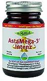 AstaMega-3® Intenz - 30 Astaxanthin Kapseln mit Omega-3 natürlich gewonnen aus Perilla Samen - Von Dr. Hittich