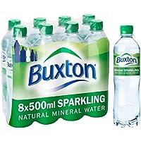 Buxton agua mineral con gas 8 x 500ml
