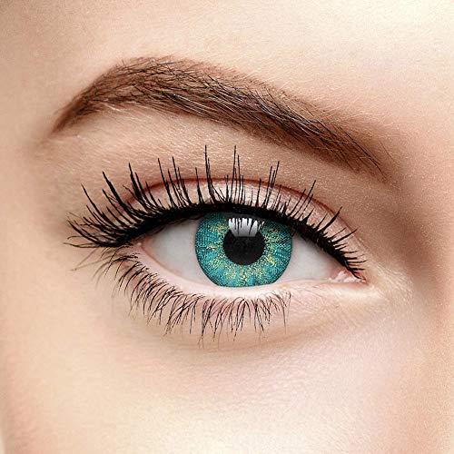 Mystic Farbige Kontaktlinsen Ohne Stärke Türkis (90 Tage)