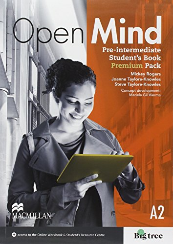 Open mind. Pre-intermediate. Student's book-Workbook. Without key. Student's resources centre. Con e-book. Con espansione online. Per le Scuole superiori