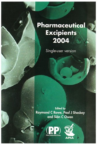 Pharmaceutical Excipients 2004. CD-ROM.