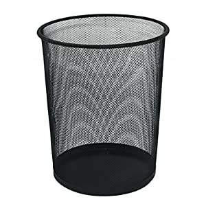 Q-Connect KF00871 Waste Basket Mesh KF00871, 18 L - Black