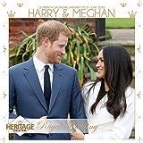 Harry neuer, Meghan 2019-Kalender, quadratisch, Größe mit 6x Postkarten Mit Leinwanddruck