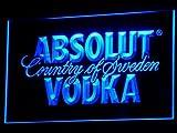 Absolut Wodka - Cartel Luminoso LED para Bar o Club