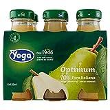 Yoga Optimum Succi di Pera - Pacco da 6 x 125 ml - Totale: 750 ml