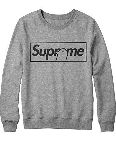 Sweatshirt Supreme Parody Bird H100020 Grau S -