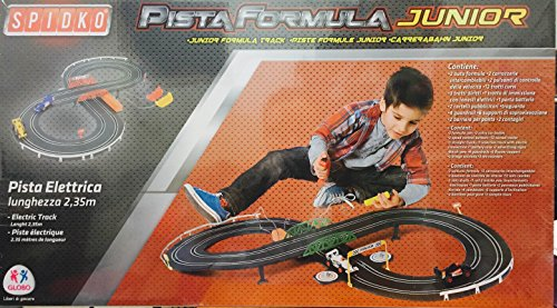 Globo Toys Globo–37430235cm spidko Track mit 2-pista Formel Autos und Zubehör (Remote-control Car Und Track)