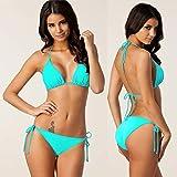 NEMACH Ms.Bikini Costume da Bagno Beachwear Abbigliamento Sportivo per L'acqua Attrezzatura Subacquea Costume da Bagno in Tinta Unita di Grandi Dimensioni Bikini di Altissima qualità Solario
