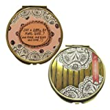 Disaster Design Why Not Compact Mirror, Gold