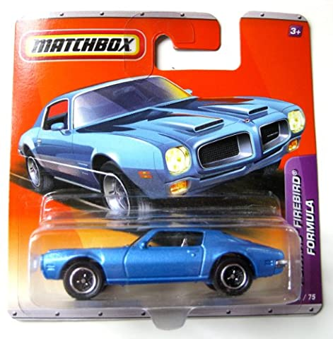 Matchbox Pontiac Firebird Formula hellblaumetallic 1:64