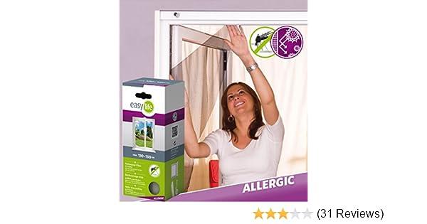 3er komplett Set Pollenschutz Vlies 130 x 150 Pollenschutzgitter Allergiker