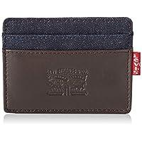 Levi's Leather Denim Card Case Kartlik