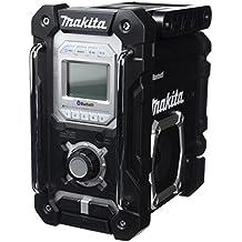 Makita DMR106B Portátil Negro - Radio (3,5 mm, Ión de litio, Portátil, LCD, AM, FM, Corriente alterna, Batería), Modelos surtidos por color (Negro o Azul)