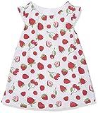 Chicco09093732000000, Vestido para Bebé-Niñas, Rojo (White & Red), 74 cm