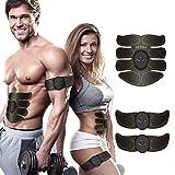 Electrostimulateur Musculaire abdominal, EMS, peut être utilisé pour sculpter, tonifier et masser vos abdos, vos bras, vos jambes et vos fesses. C�est une ceinture de massage aussi -Utile pour les femmes et les hommes. Sport Maison