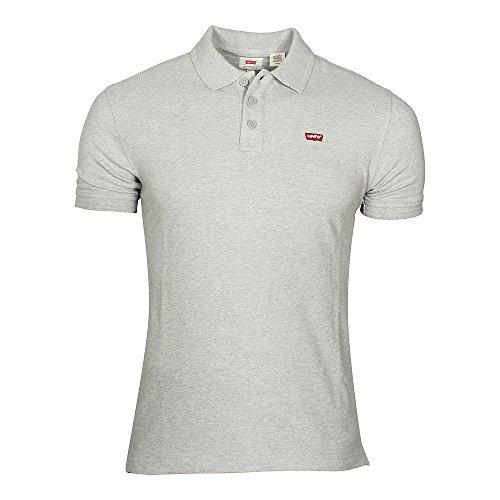 Levi's Herren Poloshirt Housemark Polo Grey