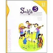 Solfa música 3º primaria (Educación Primaria) - 9788426813060