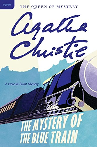 Book cover for The Mystery of the Blue Train