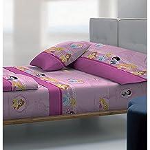 disney juego de sbanas princess elegant petalo rosa cama x