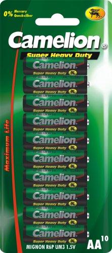 Camelion 10001006 Super Heavy Duty Batterien R6 Mignon/ 10er Pack
