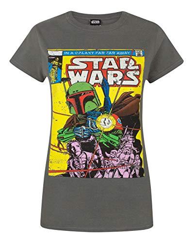 Star Wars Boba Fett Comic Women's T-Shirt (L)