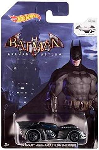 Hot Wheels Wheels Wheels BatFemme 75th  : BatFemme Arkham Asylum Batmobile a33f5d