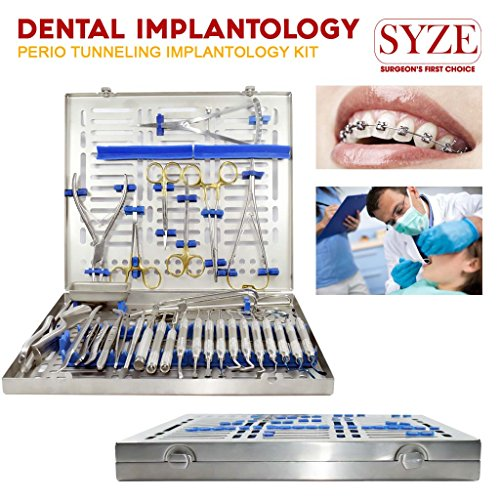 Richtige 32 x Advance Dental Implant Chirurgie Kit Stahl Knochen Rongeur Zange Pinzette (Chirurgie-kit)