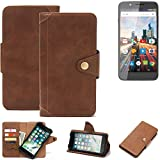 K-S-Trade for Archos 55 Helium Ultra Wallet Case Mobile
