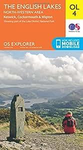 OS Explorer OL4 The English Lakes - North Western area (OS Explorer Map)