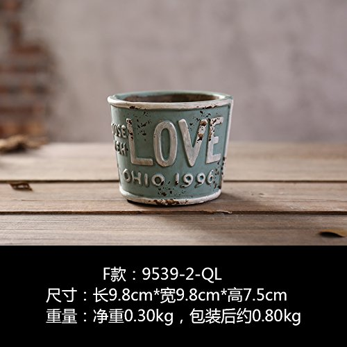 Price comparison product image lppkzqIndustrial wind cement ashtray creative living room coffee table retro home decorative ornaments personalized bar desk collection,F