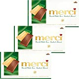 merci Mandel Milch Haselnuss Schokolade 3er Set