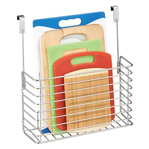 mDesign kleines Küchenregal zum Aufhängen - praktischer Ordnungshelfer für die Küche -...