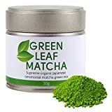 ORGANIC SUPER PREMIUM MATCHA | Green Tea Powder | Supreme Quality | Ceremonial Grade | 30g | Japan - Kyoto, Uji | High End | Best Available | Selected Leafs Only | Hand Picked | 1st Harvest | 100% Money Back Guarantee | Natural Energy Boost | Mild Taste | Top Choice | Antioxidant | For Healthy Lifestyle | Green Leaf Matcha