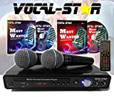 Vocal-Star VS-400 CDG DVD Karaoke Machine With 2 Microphones & Songs